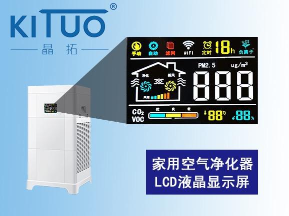 家用空气净化器LCD液晶屏2