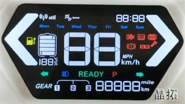 电动车仪表