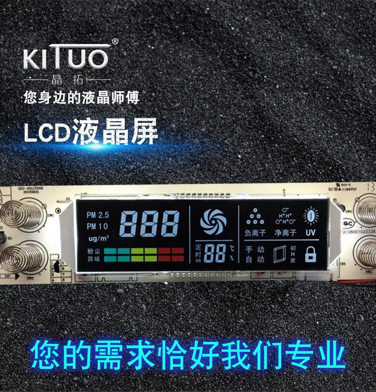广东段码LCD液晶屏
