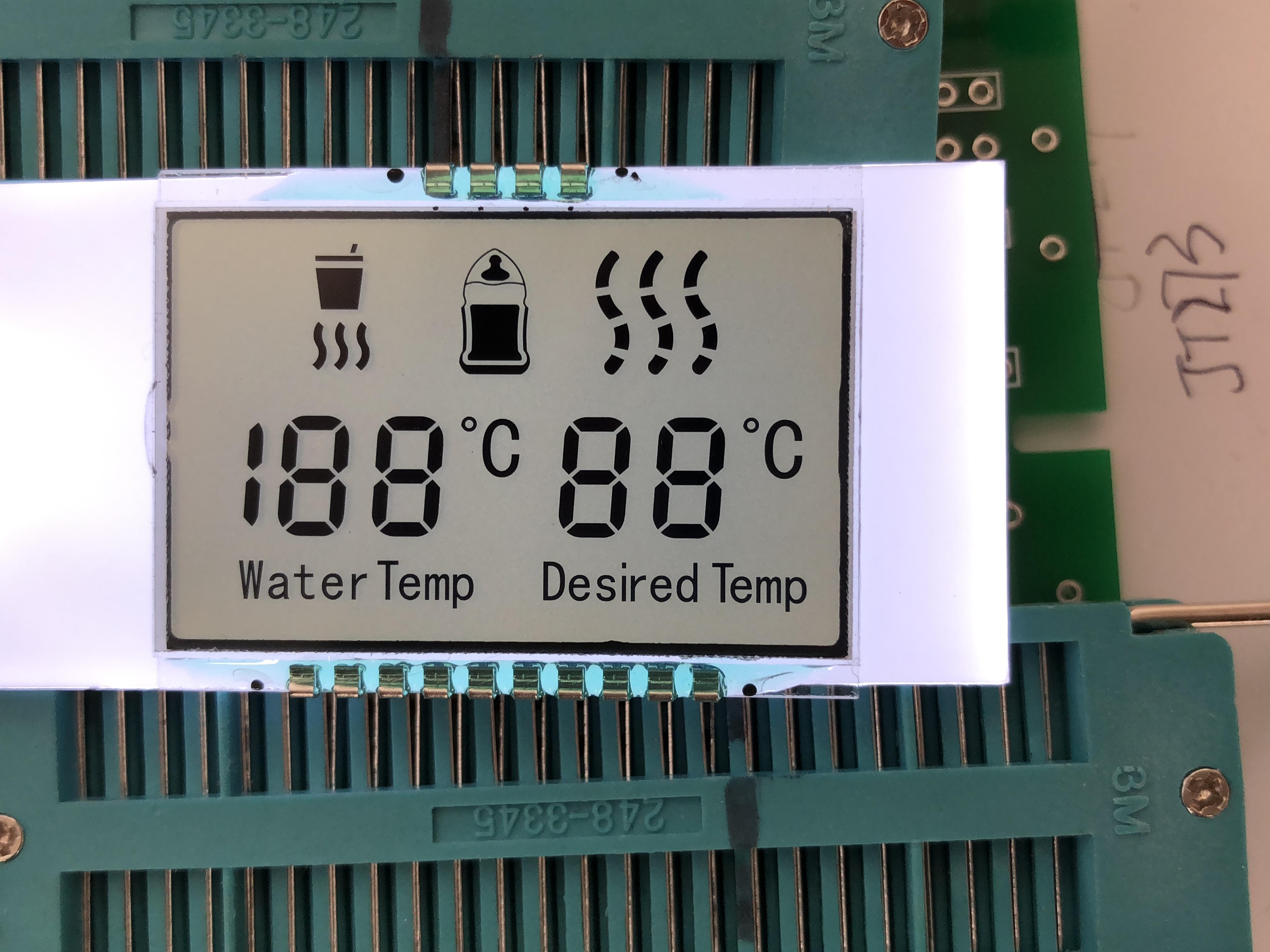 晶拓暖奶器LCD液晶屏