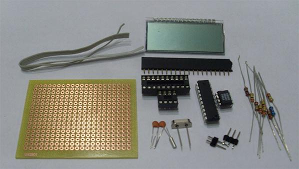 单片机IO口直接驱动段式LCD的方法2