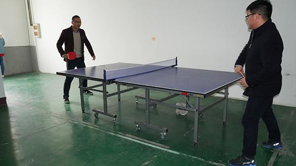 明仕亚洲ms888_公司体育活动之乒乓球