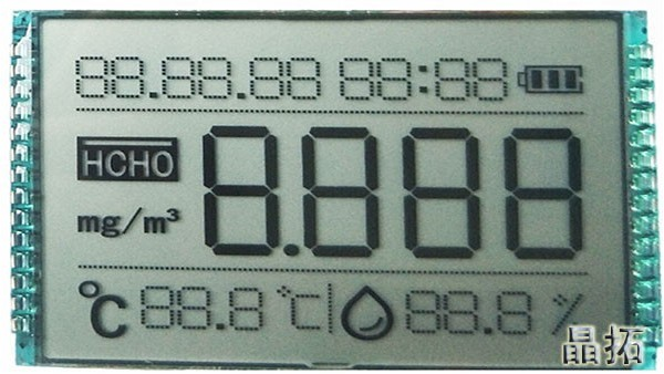 明仕亚洲ms888_LCD段码屏亮度是怎么定义的?