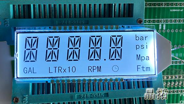 什么是段码液晶屏的正显和负显?