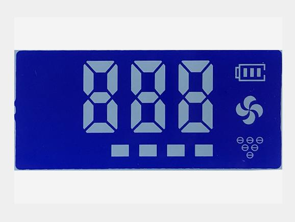 蓝膜、车载空气净化器液晶屏
