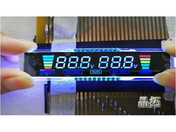 晶拓LCD液晶屏应用于车载逆变器