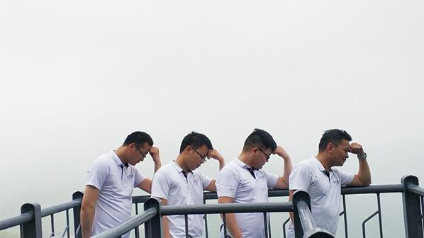晶拓研发团队 千岛湖踏春