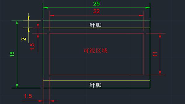 液晶屏中隐藏的一些尺寸参数