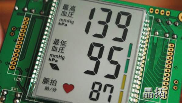 液晶屏血压计